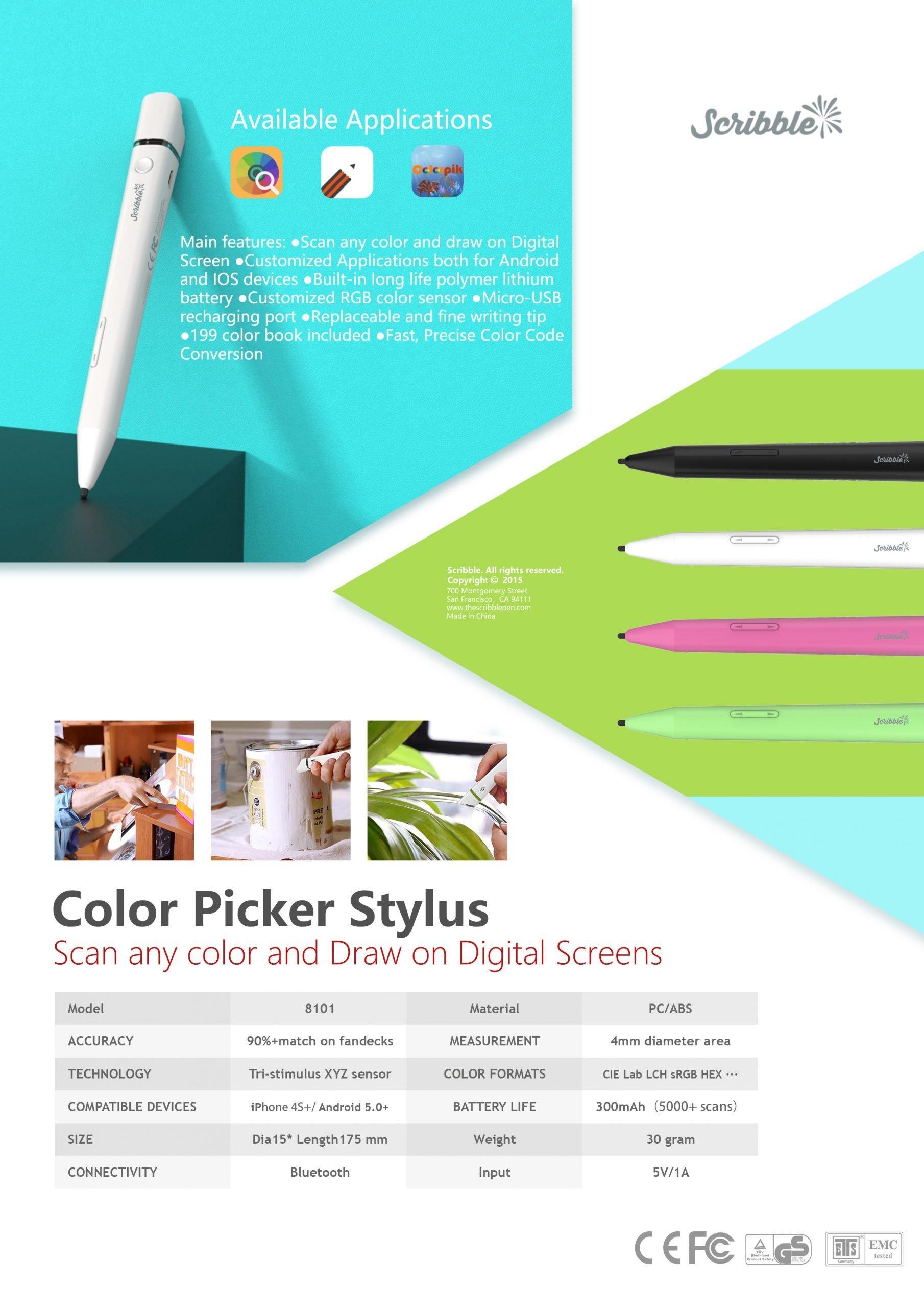 Color Picker Stylus