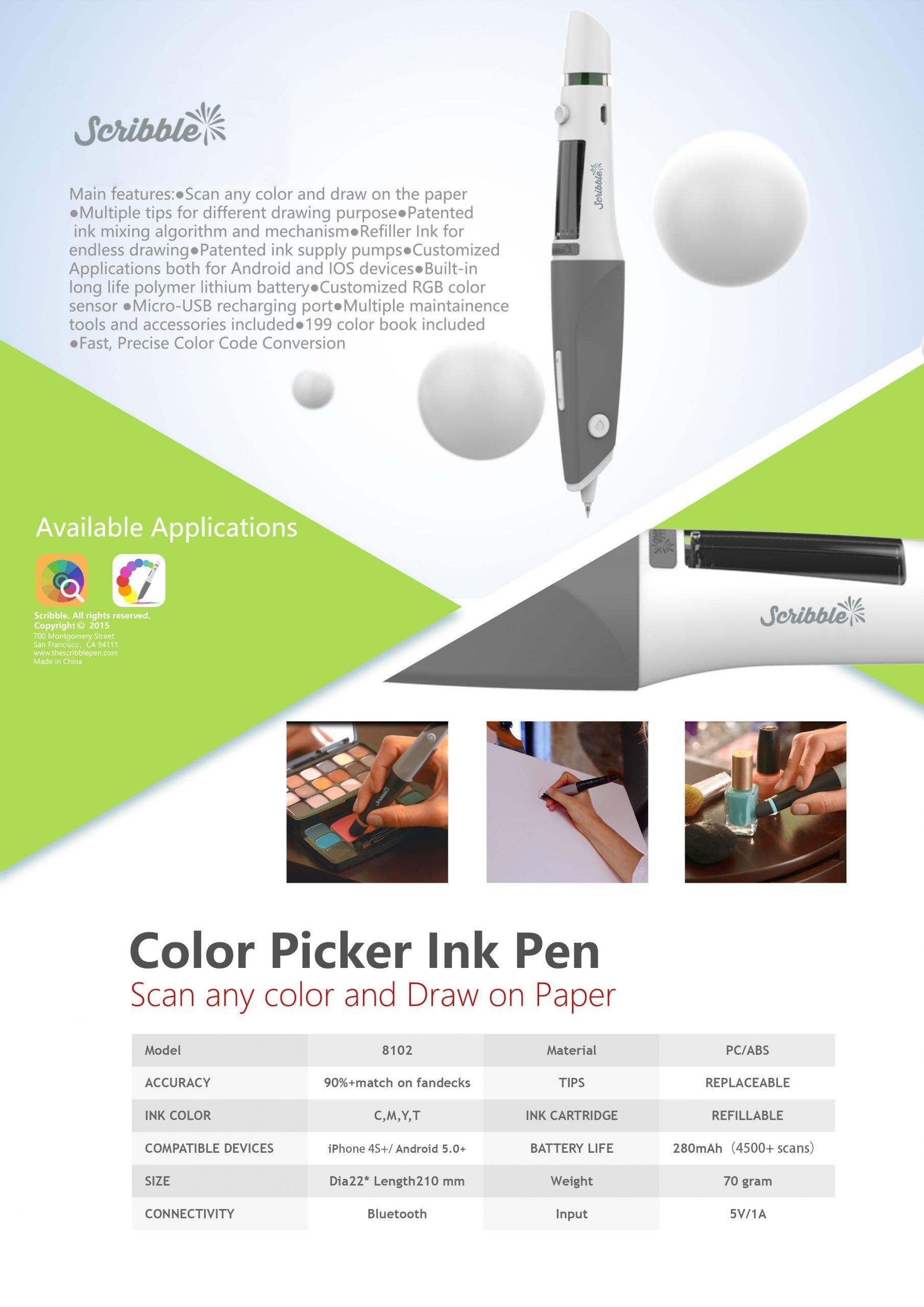 Color Picker Ink Pen